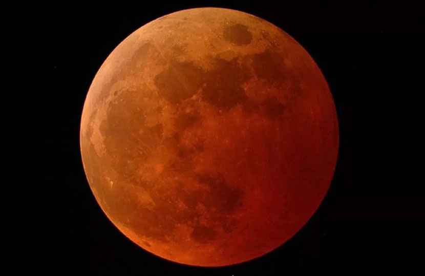 A total lunar eclipse will occur in parts of the world on May 26